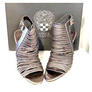 NIOB Vince Camuto Adita Caged Sandals Size 7.5